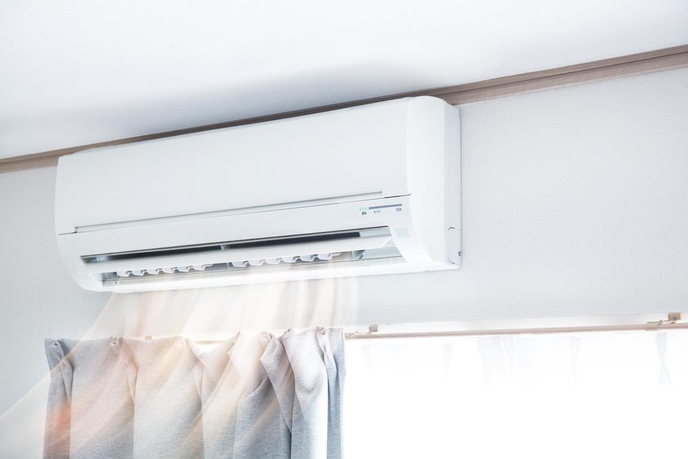 Ar-condicionado combatendo a umidade