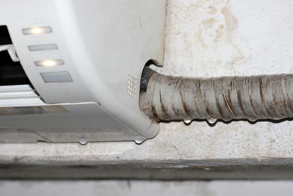 Razões do vazamento da água do ar-condicionado