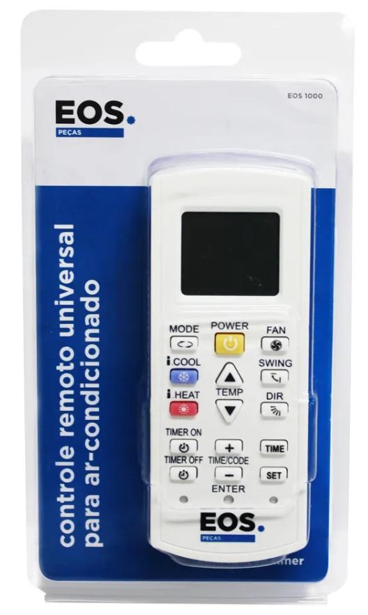 Controle de ar-condicionado EOS