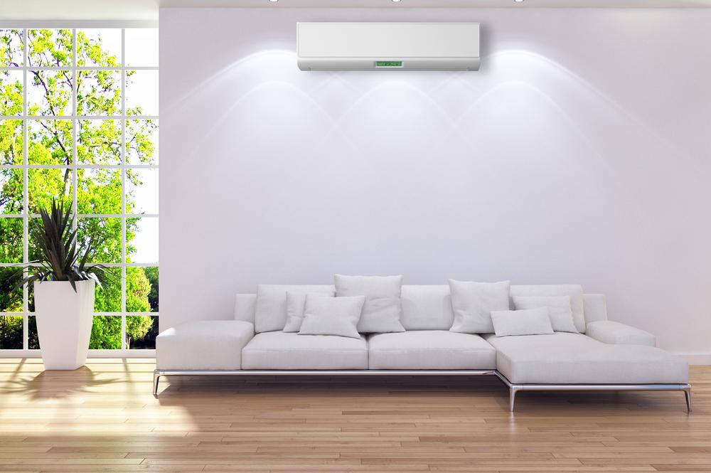 Ar-condicionado na sala