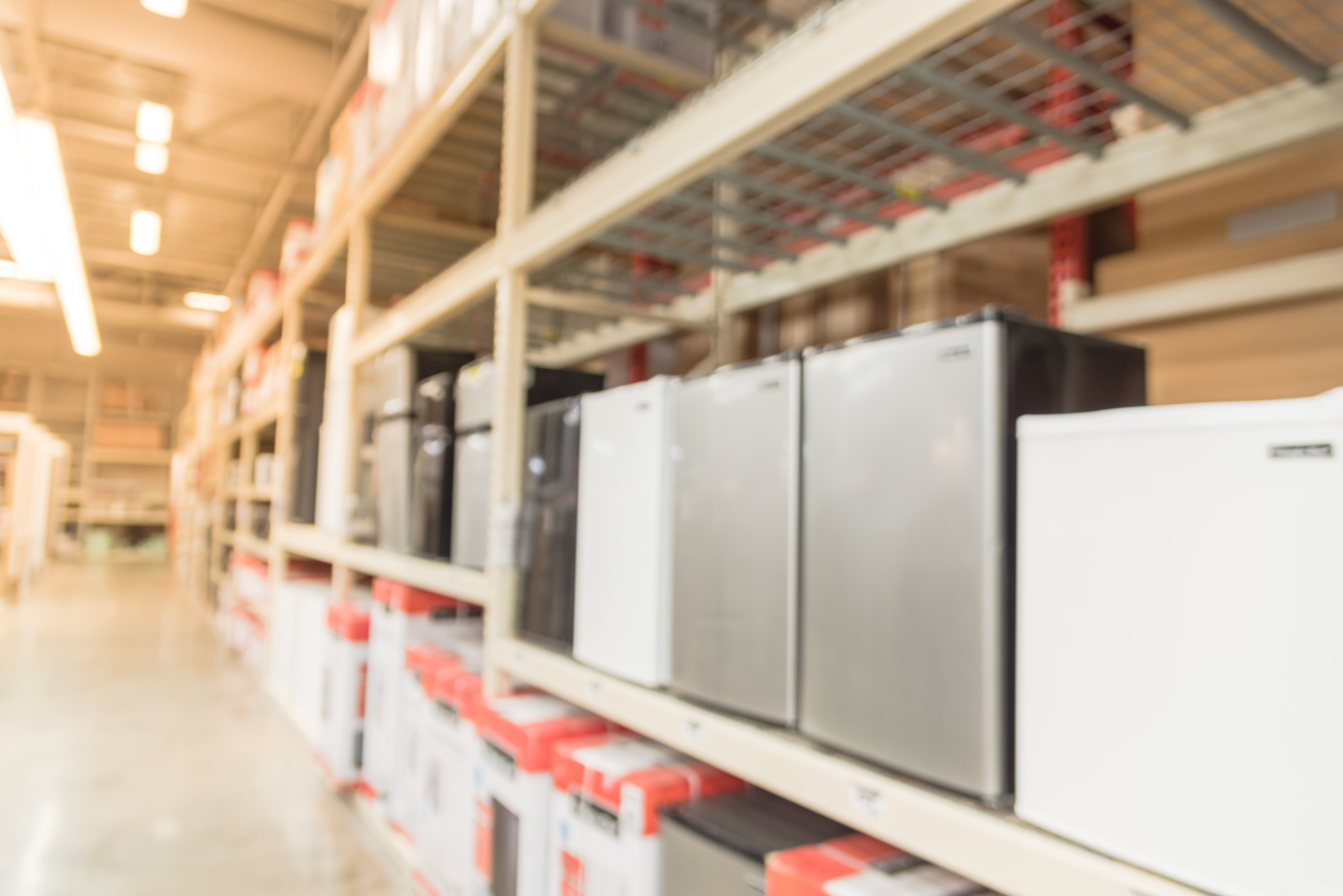 Diferentes modelos de frigobares