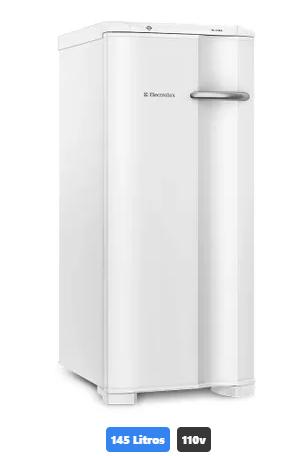 Freezer Vertical 1 porta Electrolux Cycle Defrost FE18 145 Litros 110v