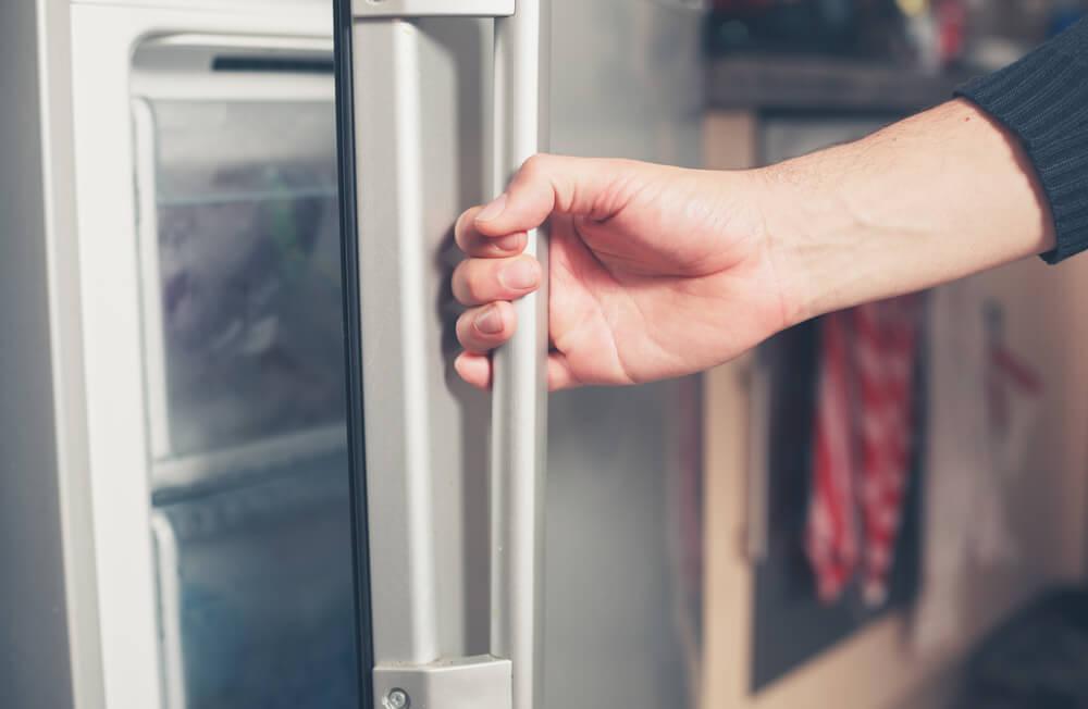 Freezer limpo