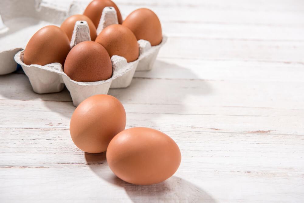 Ovos não devem ser guardados no Freezer