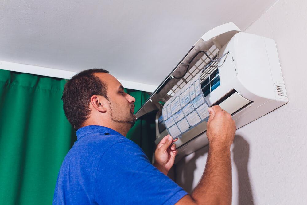 O que fazer quando acontece vazamento de gás no ar-condicionado?