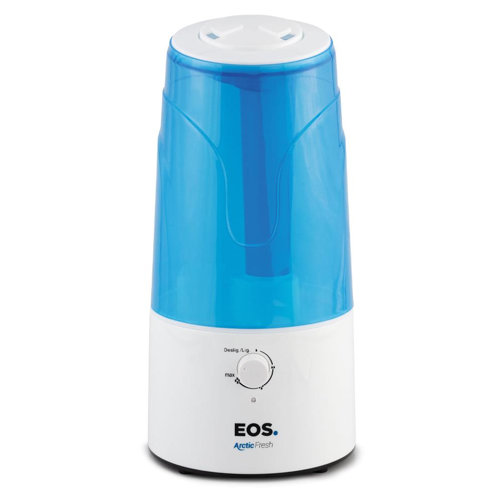 Umidificador e Aromatizador de Ar Ultrassônico EOS 3 Litros 25W Bivolt.