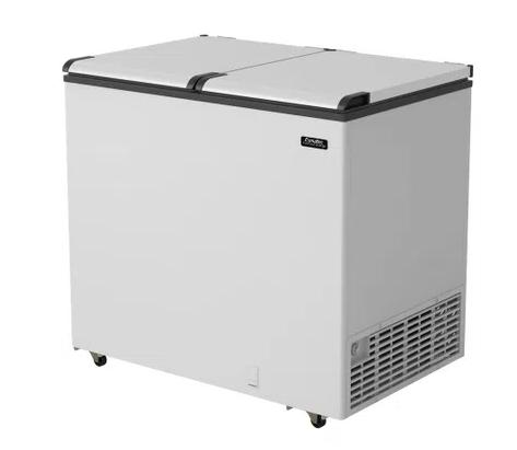 Freezer/Conservador Horizontal Esmaltec 325L Tripla Ação