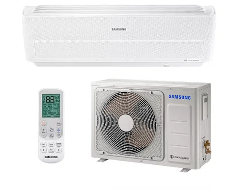Ar Condicionado Split Inverter Samsung Wind Free Quente e Frio High Wall 12000 BTUs