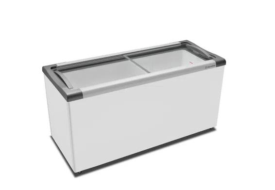 Freezer Expositor Horizontal Metalfrio 404 Litros Branco NF55SB - 220V