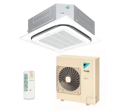 Ar Condicionado Split Cassete Inverter Daikin SkyAir Quente e Frio 35000 BTUs - 220v