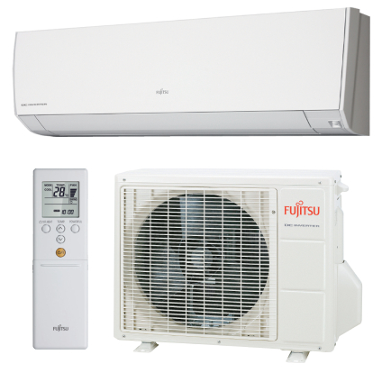 Split Inverter Fujitsu quente e frio High Wall