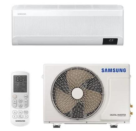 Ar Condicionado Split High Wall Digital Inverter Samsung Wind Free Essential Quente e Frio 18000 BTUs
