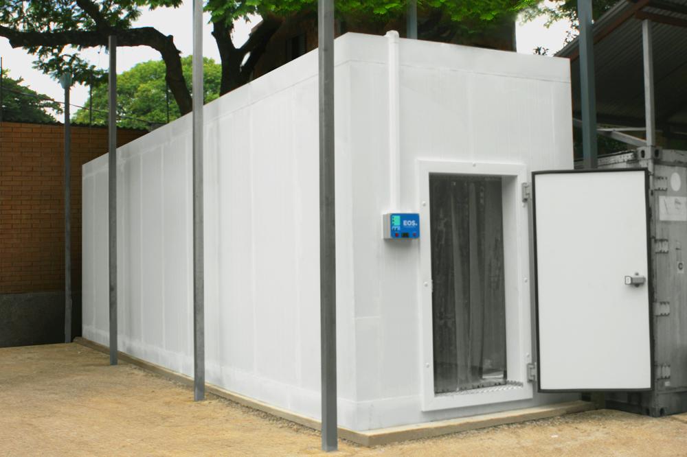 Frigelar doa câmara frigorífica EOS para Secretaria Estadual de Saúde do RS