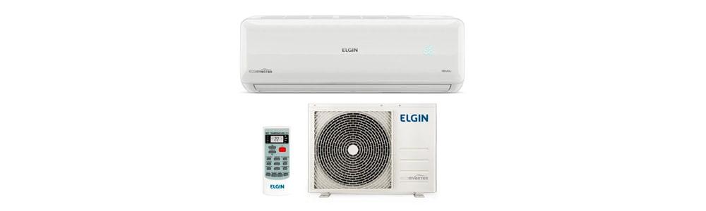 Split High Wall Eco Inverter Elgin Quente e Frio de 9.000 BTUs