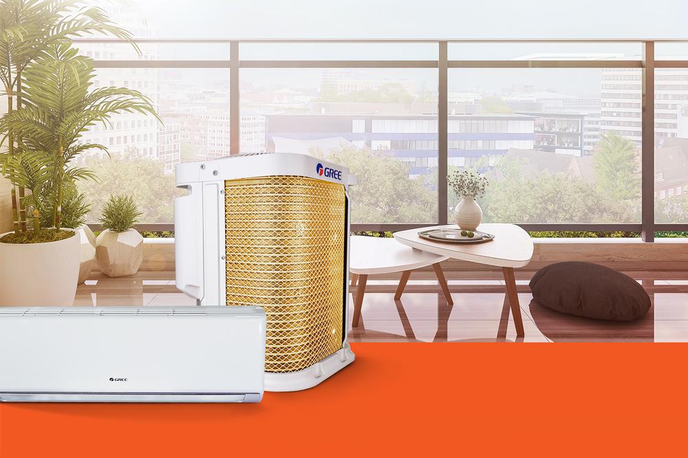 Gree lança linha de ar-condicionado G-Top com exclusiva tecnologia Goldenfin Top