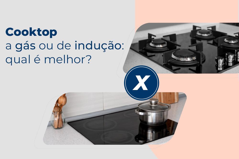 Conheça as diferenças entre cooktop a gás e cooktop de indução