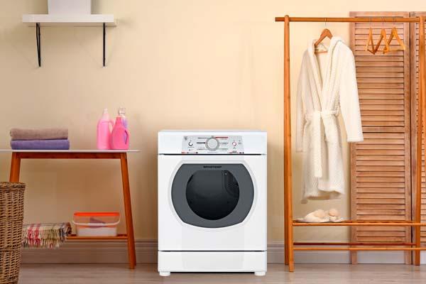 Lava e seca Brastemp na lavanderia