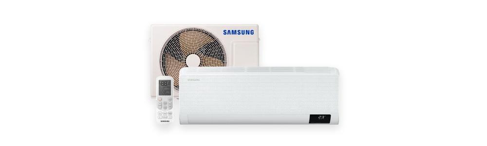 Ar Condicionado Split High Wall Digital Inverter Samsung WindFree Quente e Frio 12000 BTUs