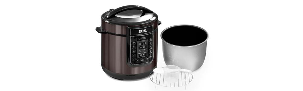 Panela de Pressão Elétrica Multicooker 6 litros da EOS